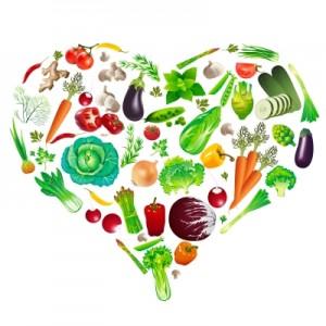 zöldség-szív